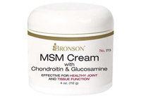 Bronson Vitamins MSM Cream with Chondroitin & Glucosamine