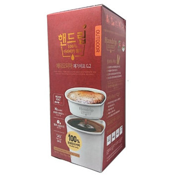 Handrip Single Brew Disposable Paper Drip Coffee Filters, 100% Arabica Ground Coffee Sticks, Disposable Paper Cups, Ethiopia (Pack of 5)