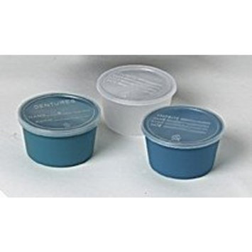 Medline Clear Denture Container Case of 250