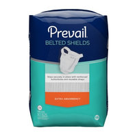 Prevail Adult Incontinent Belted Undergarment Pull On Disposable Heavy Absorbency One Size Fits Most, 2 Cases of 120