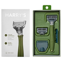 Harry's Men's Razor with 2 Razor Blades - Forest Green