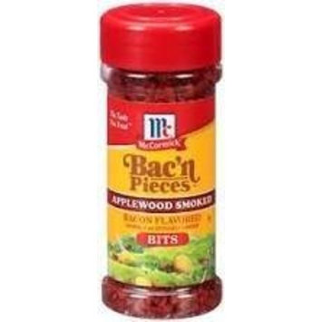 Mccormick Bac'n Pieces Applewood Smoked Bacon Flavored Bits (pack of 2)