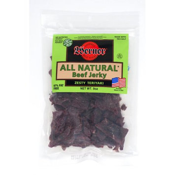 Werner Gourmer Meat Snacks Werner All Natural Teriyaki Beef Jerky 9oz