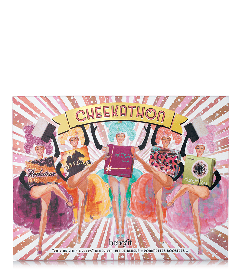 Benefit Cosmetics cheekathon bronzer & blush palette