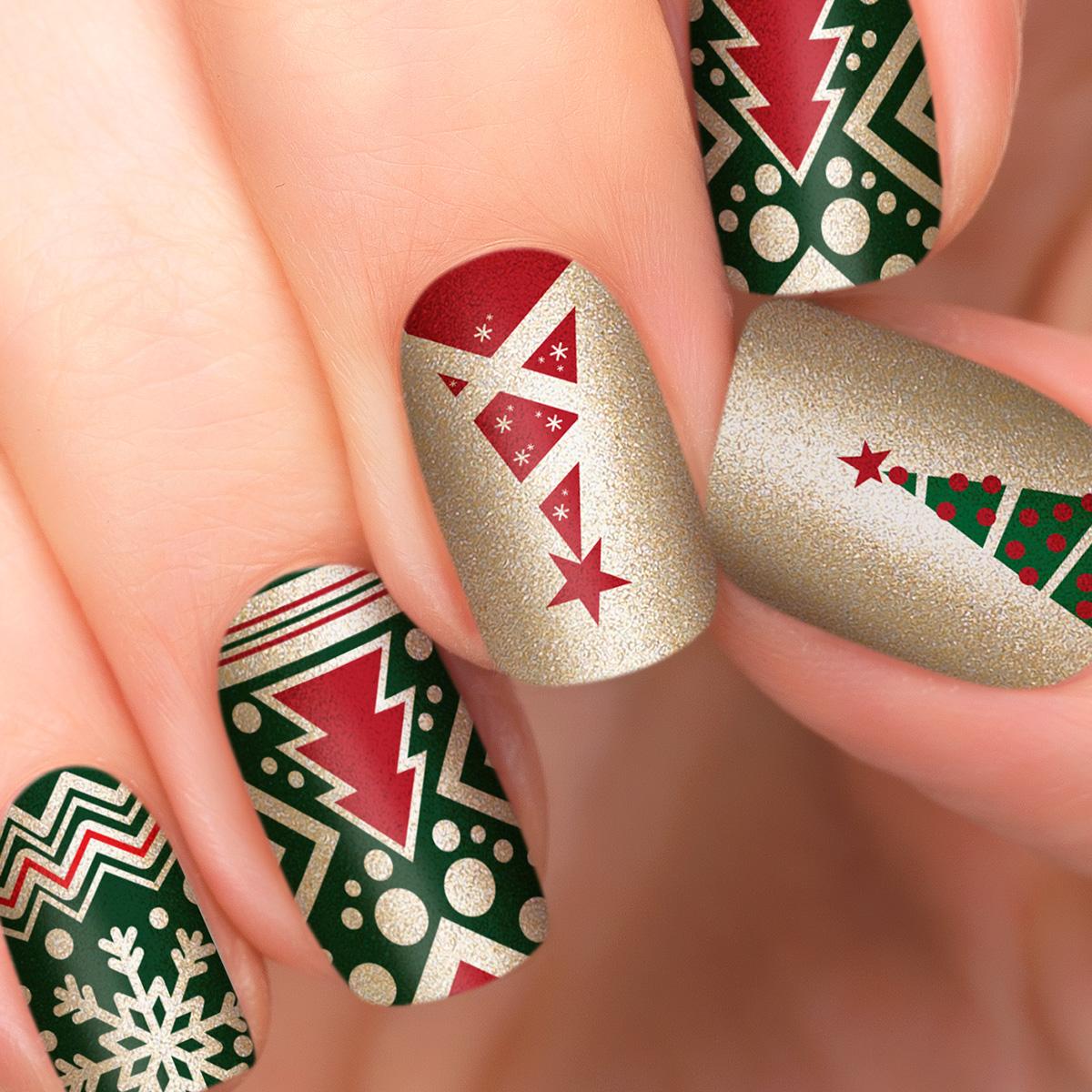 Incoco.com Incoco Nail Polish Strips, Christmas Magic