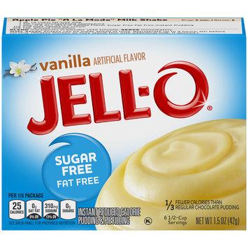 Jell-O Vanilla Sugar-Free-Fat-Free Instant Pudding & Pie Filling