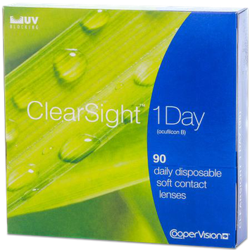 Biomedics Clearsight Contact Lenses 1 Day 90 Pack 1Box