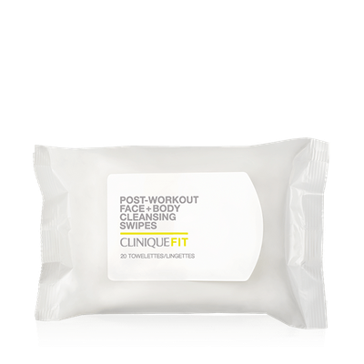 CliniqueFIT? Post-Workout Face + Body Cleansing Swipes