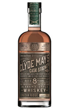 Clyde May's Cask Strength 8 Year Old Alabama Whiskey