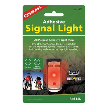 Coghlans 1470 Adhesive Signal Light - Red