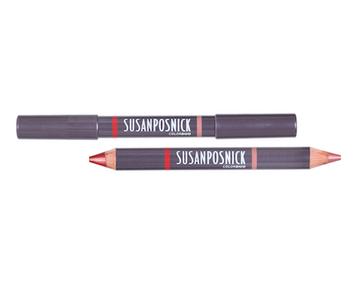 Susan Posnick ColorDuo (Matte Lipliner/ Lipstick) - # Nude/ Rouge - 4.11g/0.145oz