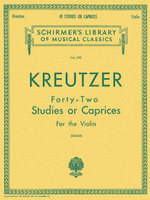 42 Studies Or Caprices - Violin: Violin Sheet Music