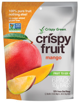 Crispy Green Crispy Fruit 100% Freeze Dried Mango