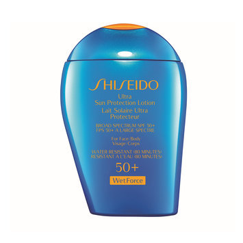 Shiseido Ultimate Sun Protection Lotion Broad Spectrum SPF 50+ Wetforce For Face/Body