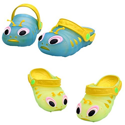 CHIC-CHIC Infant Toddler Baby Boys Girls Shoes Soft Beach Summer Jelly Sandals (13.9cm/5.47