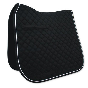 Passport Saddle Pads Passport Diamond Quilted Dressage Saddle Pad