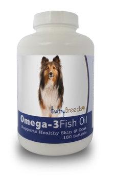 Healthy Breeds 840235141969 Shetland Sheepdog Omega-3 Fish Oil Softgels - 180 count