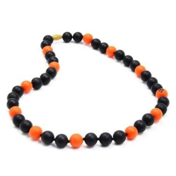 Chewbeads MLB Gameday Teething Necklace, 100% Safe Silicone-San Francisco Giants