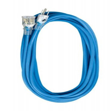 Voltec 05-00358 25 ft. SJEOW Blue Extension Cord With Lighted End Case Of 12