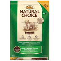 Nutro Natural Choice Limited Ingredient Diet Lamb & Whole Brown Rice [Options : Senior Dog (5 lb) (Out Of Stock)]