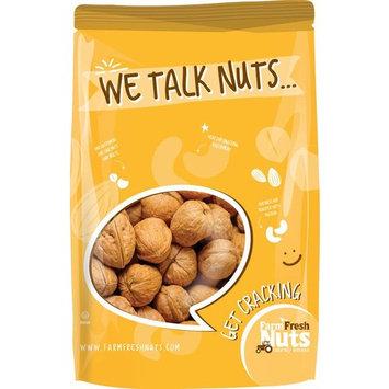 Farm Fresh Nuts Walnuts Natural In Shell (1 LB)
