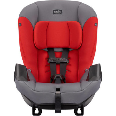 Evenflo Sonus Convertible Car Seat, Lava Red