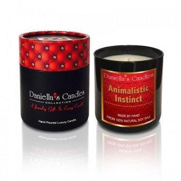 Daniellas Candles Animalistic Instinct Men's Jewelry Candle - Men's Ring Size 10