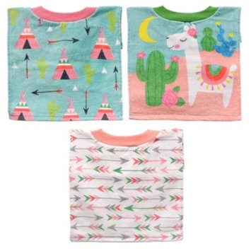 Neat Solutions 3pk Fiber Reactive Pull Over Cloth Baby Bib Set