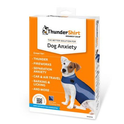 Thundershirt for Dogs -Polo [Options : M - Blue]
