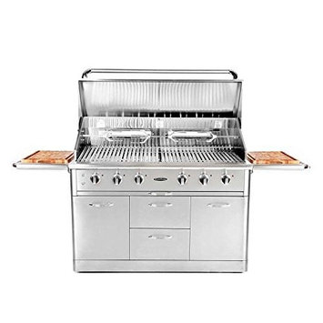 Capital Grills Precision 6-Burner Stainless Steel Natural Gas Grill HCG52RFSN