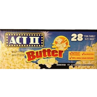 Act II Microwave Popcorn, Butter, 28 Ct