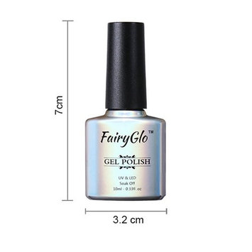 FairyGlo Nail Polish UV LED Soak Off Nail Art Shimmer Varnish 10ml 58001