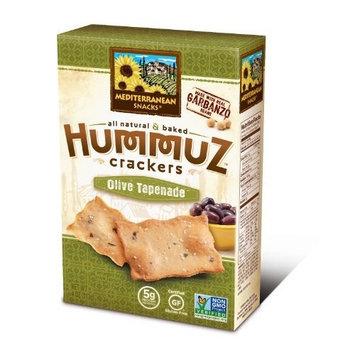 Mediterranean Snack Food Hummuz Crackers Olive Tapenade (6/4oz)