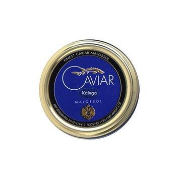 Kaluga Caviar also known as River Beluga Caviar 'Malossol' - 4 oz/113 gr.