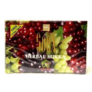 50 gr SOEX Grapes - 100% Herbal Hookah Shisha Molasses for Hooka Nargila Sheesha