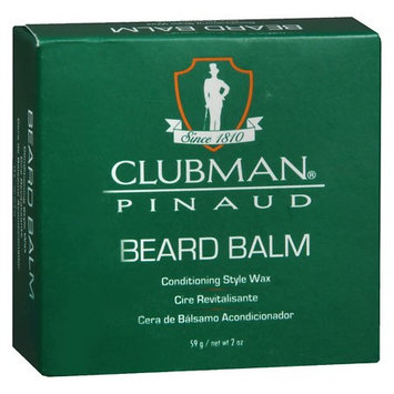 Clubman Beard Balm 2.0 oz.(pack of 6)