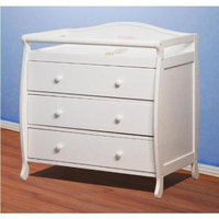 Athena Grace 3 Drawer Changer Dresser with Tray
