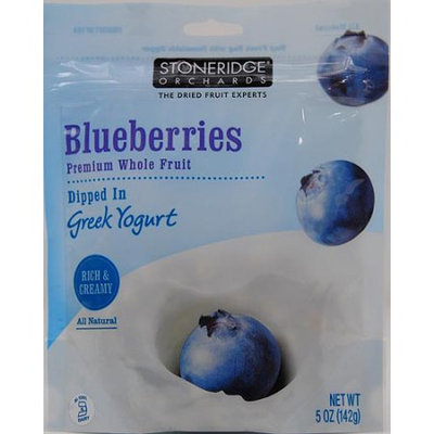 Stoneridge Orchards Premium Whole Fruit Dipped in Greek Yogurt Blueberries 5 oz
