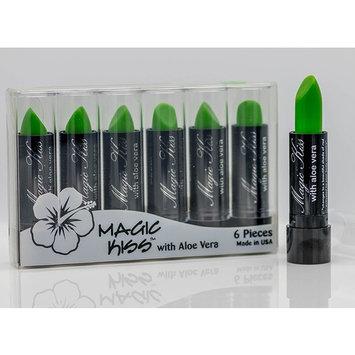 Magic Kiss Lipstick Set Aloe Vera Color Changing Green MADE IN USA