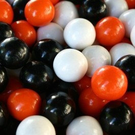 Candymachines Gumballs By The Pound - 1 Pound Bag of Halloween Mix Traditional