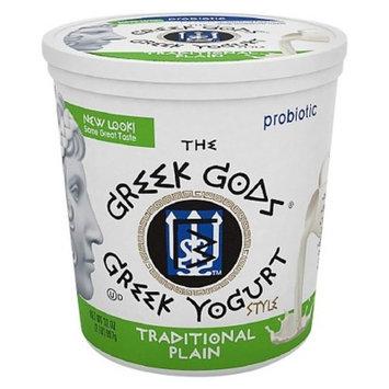 The Greek Gods Traditional Plain Greek Style Yogurt, 2 lbs