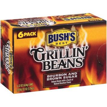 Bush's Bourbon & Brown Sugar Grillin' Beans - 22 oz. - 6 pk.