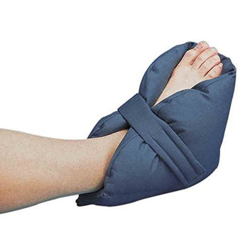Posey 6116 Quilted Heel Pillows, Navy Blue, Cotton