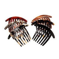 France Luxe Mini French Twist Comb - Black