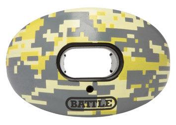 Battle Sports Oxygen Mouthguard Yellow Camo