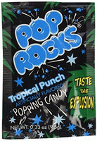 Pop Rocks Popping Candy, 36 pks, Fruit Punch, 1 case