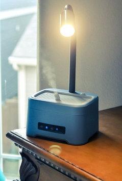 ZAQ Lumin Litemist Aromatherapy Essential Oil LED Desk Lamp Diffuser Humidifier (Orange)