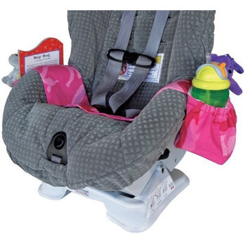 Kiddie Kangaroo Travel Storage Accessory - Car Seat in Pink Camouflage (Discontinued by Manufacturer)