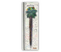 Puzzled Resin Pen Palm Tree