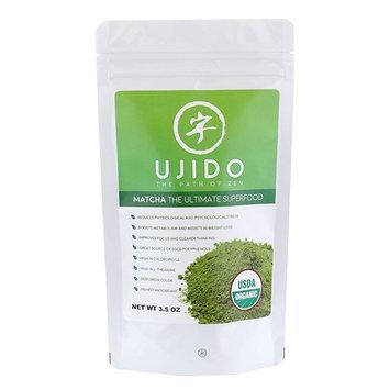 Ujido Japanese USDA Organic Matcha Green Tea Powder (3.5oz)